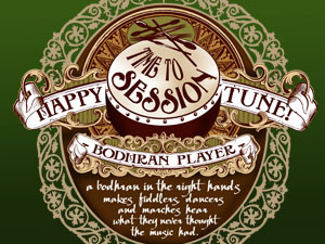 Bodhran T-shirt – Happy tune!