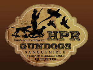 HPR hunt, point and retrieve gundogs