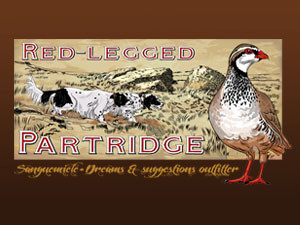 Red legged patridge: hunting becomes a noble art.