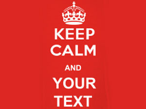 "Crea la tua maglietta ""KEEP CALM AND…"""