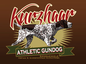 Kurzhaar, the athletic gundog!