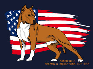 AMSTAFF with USA flag