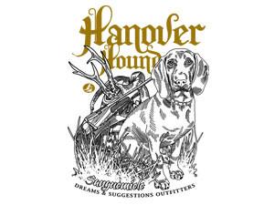 Hanover hound, european blood hound