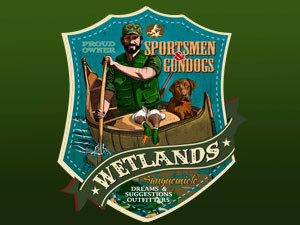 for sportsmen and gundogs that love Wetlands