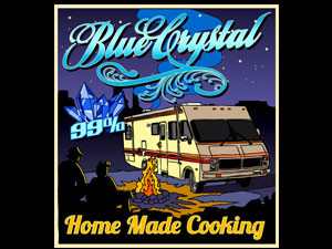 Blue Crystal, home made cooking, quality 99%