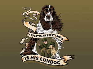 Spaniel: a sportsman's best friend is his gundog.